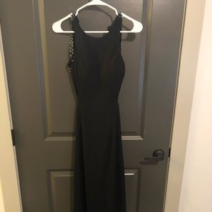 Jovani backless dress